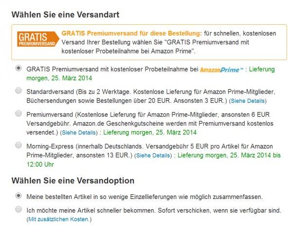 Amazon Prime einen Monat gratis testen, auch für ehemalige Tester