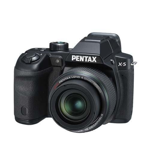 Pentax X-5 All-in-One Digitalkamera (16 Megapixel, 26-fach opt. Zoom, 7,6 cm (3 Zoll) Display, Full HD) schwarz für 155€ @Amazon.uk
