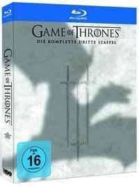 Game of Thrones - Die komplette 3. Staffel BluRay mit Rabattcode @buch.de/bol.de/thalia.de