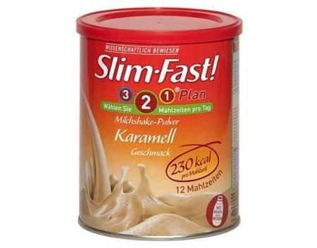 3 Dosen SlimFast Milchshake Pulver - Karamell Geschmack für 8,90