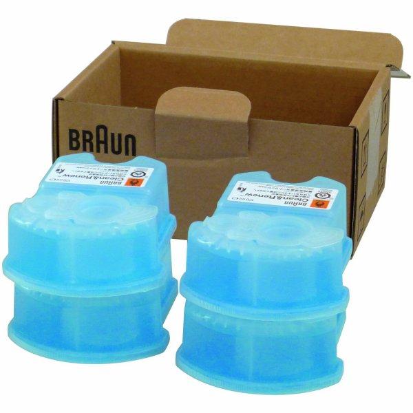 Braun Clean&Renew CCR Reinigungskartusche 8 Stück für 25,48€ (3,19€/Stck.) VSK-frei bei Amazon