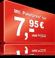 maxxim All-in XL plus bis 10.11. - 250/250/500 für 7,95 €/Monat im O²-Netz keine Mvlz.