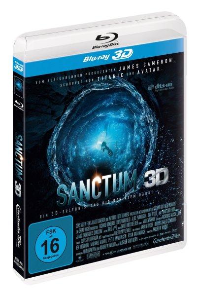 Sanctum 3D Bluray für 14,97€ @ Amazon (+3€ VSK ohne Prime)