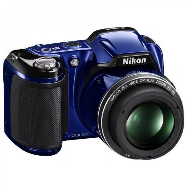 Nikon Coolpix L810 in verschiedenen Farben für unter 115€ inkl. Versand