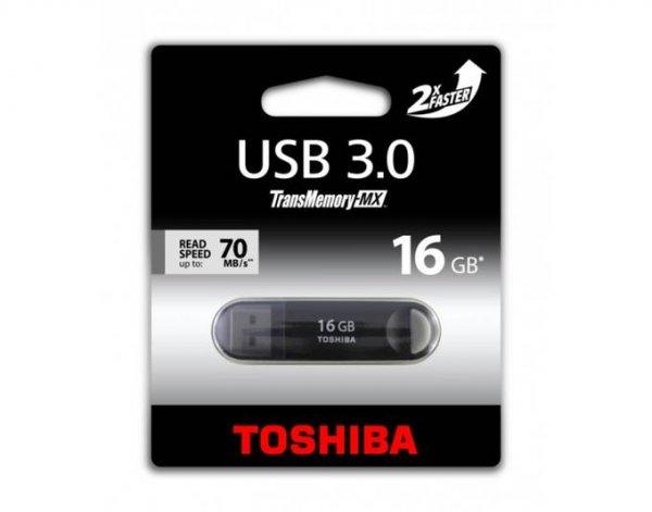 Toshiba 16GB USB 3.0 Suzaku schwarz bei MeinPaket für 7,35