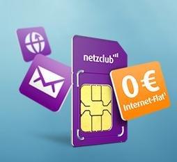 Netzclub Prepaid Karte + Geschenk im Wert von 20€