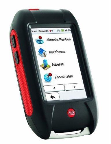 Falk LUX 22, Outdoor-GPS, Basiskarte Plus (EU 20) zum Radfahren, Mountainbiken und Wandern, Geocaching