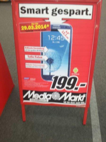 Samsung Galaxy S3 für 199€ @MM Ludwigsburg