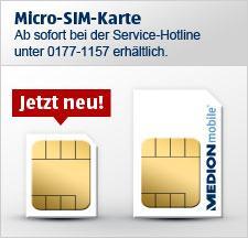 """Für alle """"Aldi-Talk"""" Benutzer: Micro-Sim für Iphone4 oder Ipad bestellen (Anruf 0,49€)"""