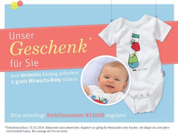 Gratis Mitwachs-Body für Babys von Jako-o