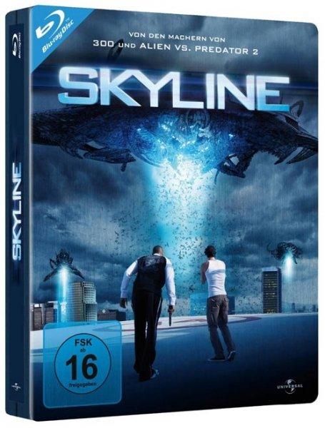 Skyline Blu-Ray Steelbook bei alphamovies.de 4,44 € +2,99 Versandkosten ab 17 € versandkostenfrei uvm.