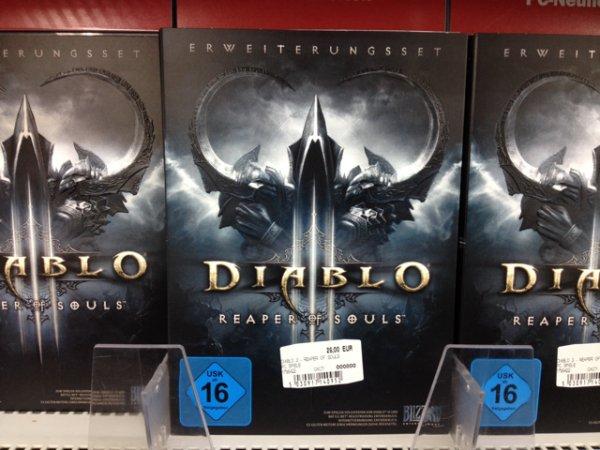 Diablo 3 addon 29€ @ MM Koblenz