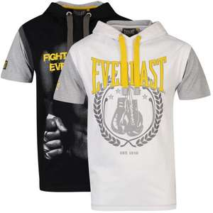 Everlast Men's 2-Pack Hooded Tops - White/Black @ THE HUT