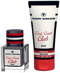Tom Tailor East Coast Club Man EdT 30 ml + Showergel 150ml 7€ inkl. Versand  (Prime) @ Amazon