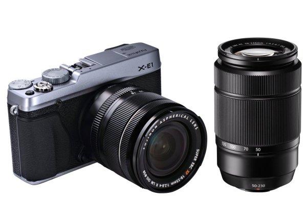Fujifilm X-E1 + 2 Objektive