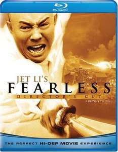 Jet Li's Fearless - Director's Cut auf Blu-ray [US-Import ohne dt. Ton]  @ Amazon.co.uk