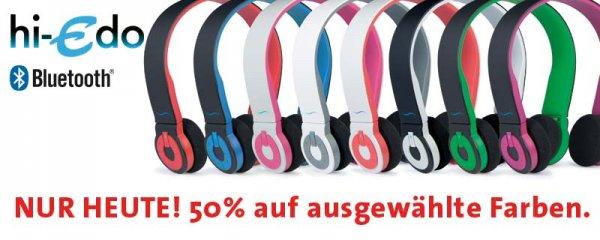 hi-fun hi-Edo Bluetooth Headset für 39,99€ anstatt 79,99€ versandkostenfrei