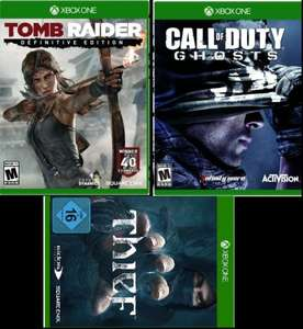 [XBOX One] Thief, Tomb Raider - Digital Download für ~ 21,75€ & weitere
