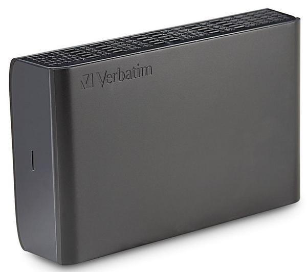 VERBATIM Externe Festplatte 4 TB, 3,5 Zoll, USB 3.0