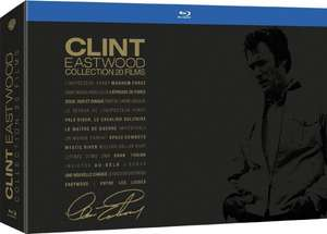 Clint Eastwood - Collection 20 Filme [Blu-ray] für 68,46€ @Amazon.fr