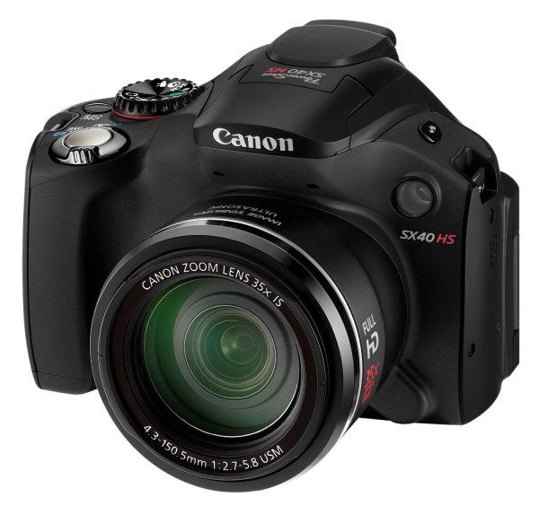 Canon PowerShot SX40 HS für 201,11 € @Amazon.it