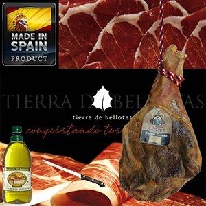 Serrano-Schinken (± 7-6 kg) inkl. Filetiermesser und 2L Olivenöl für 59,95€ zzgl. 8,95€ Versand @iBOOD