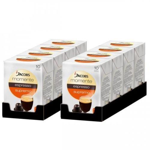 80 x Jacobs Momente Espresso Kapseln Supremo, geeignet für Nespresso© Maschinen 16,99 bei ebay