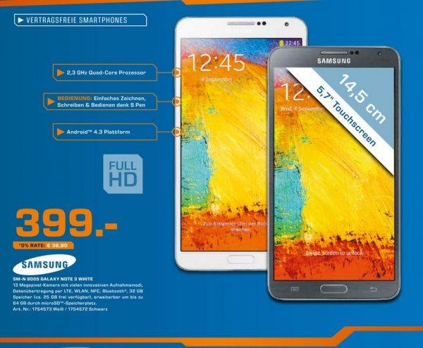 Samsung Galaxy Note 3 für 399€,Galaxy Tab 3 7.0 Wifi für 88€,Toshiba Stor.e Plus 1TB für 49€ Lokal [Saturn Stuttgart,Esslingen]