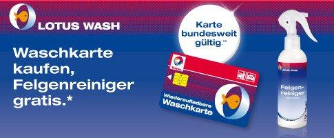 Total Waschkarte kaufen und 200 ml Felgenreiniger gratis erhalten