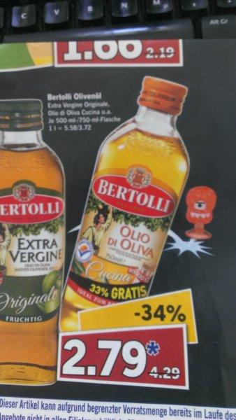 [Lidl offline] 750ml Bertolli Olivenöl für 2,79 € nur am Samstag 29.03.