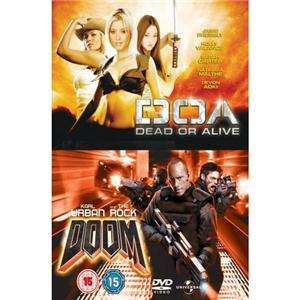 Doom / DOA: Dead Or Alive (2005) [2 DVDs] für 3,99€ @ play.com