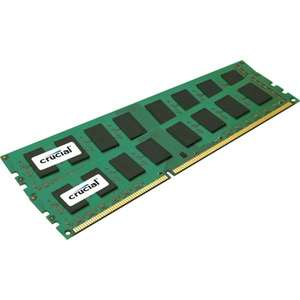Crucial 8GB KIT PC3-12800 DDR3-1600 CL11 1,50V Value 2x4GB für 40,54€ @getgoods