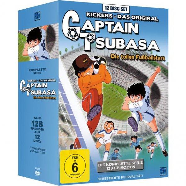 Captain Tsubasa: Die tollen Fußballstars - Die komplette Serie [12 DVDs] - 45,99€