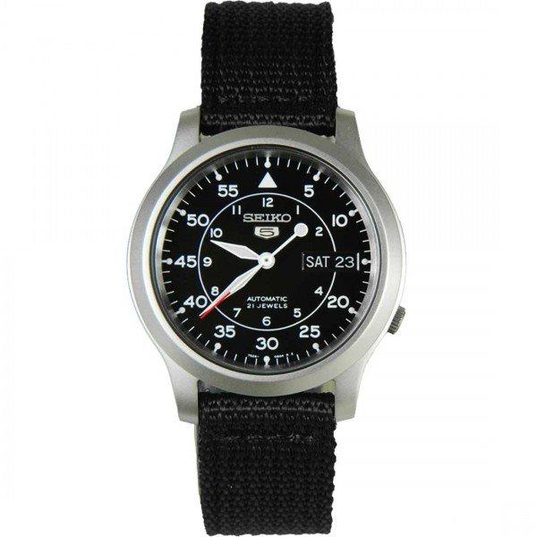 Seiko SNK809K2 Mens Nylon 5 Military Automatic mens watch SNK809 ~56€ über skywatches.com.sg