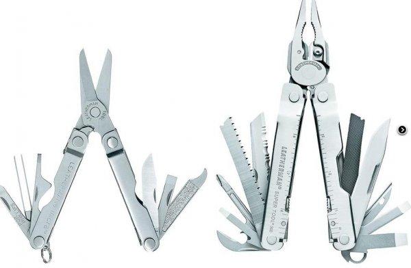 Leatherman Super Tool 300 + Micra Multitool für zusammen 68,34 (inkl. VSK) mit Gutschein @voelkner