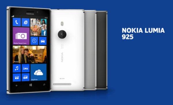 [Saturn/MM Online] Nokia Lumia 925 schwarz oder weiß 299€