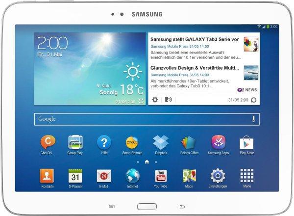 Samsung Galaxy Tab 3 10.1 16GB 3G  für 249€ @ Ebay