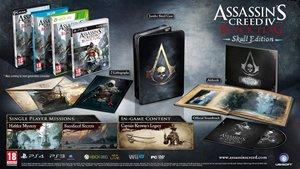 Assassin´s Creed IV: Black Flag Skull Edition (PS4) für 45,69 € inkl. Versand & deutscher Sprache @ game.co.uk