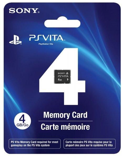 Sony™ - 4GB Memorycard (PS Vita) für €7,95 [@Toysrus.de]