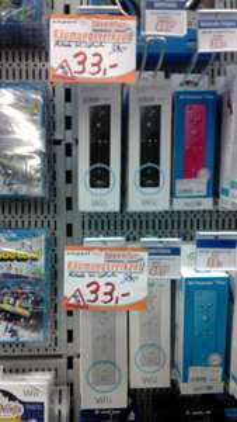 [Lokal Expert Ahaus] Wii Remote MotionPlus für 33€ und diverse Wii-Spiele für 1 bzw. 5€