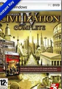 SIMPLYCDKEYS - Civilization IV Complete Edition Steam CD Key - 2,41 €