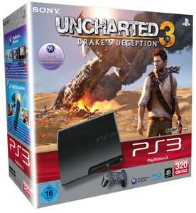 Amazon [WHD] PS3 320GB + Uncharted 3