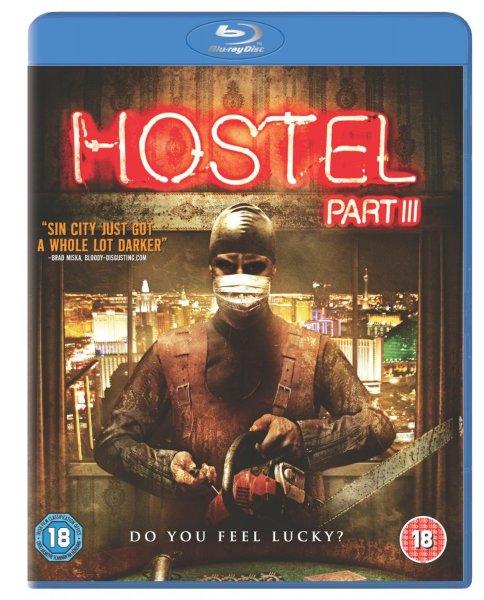 Blu-ray - Hostel 3 (Uncut) für €6,63 (15 Prozent Aktion auf alle Blu-rays) [@Wowhd.se]