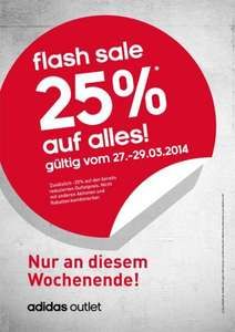 Adidas Outlet in Piding 25% auf alles