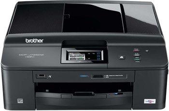Brother DCP-J725DW, 3in1 Inkjet+WLAN+Duplex+nutzt die günstigeren Tinten ohne Chips, neu ABER mit optischen Mängel statt >140 € (Idealo) zu 94 €
