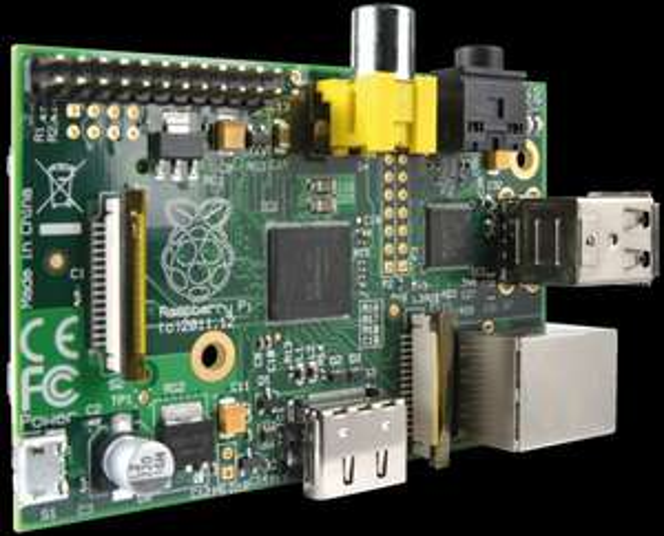 Raspberry Pi Modell B für 29,95€ + 5,60€ = 35,55€
