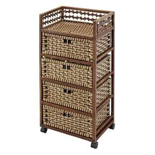 kesper k chenwagen mit 4 k rben f r 25 real. Black Bedroom Furniture Sets. Home Design Ideas