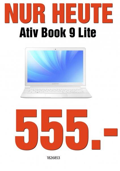 [LOKAL MM Weiterstadt ] SAMSUNG ATIV BOOK 9 LITE (Np-905) -  für 555€
