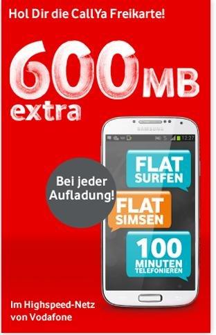 15€ Flat mit insgesamt 800MB Voulumen