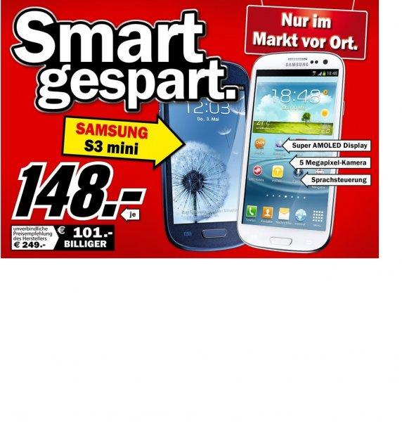 [MM Ludwigshafen-Oggersheim] Samsung Galaxy S3mini für 148€ in blau und weiß!!